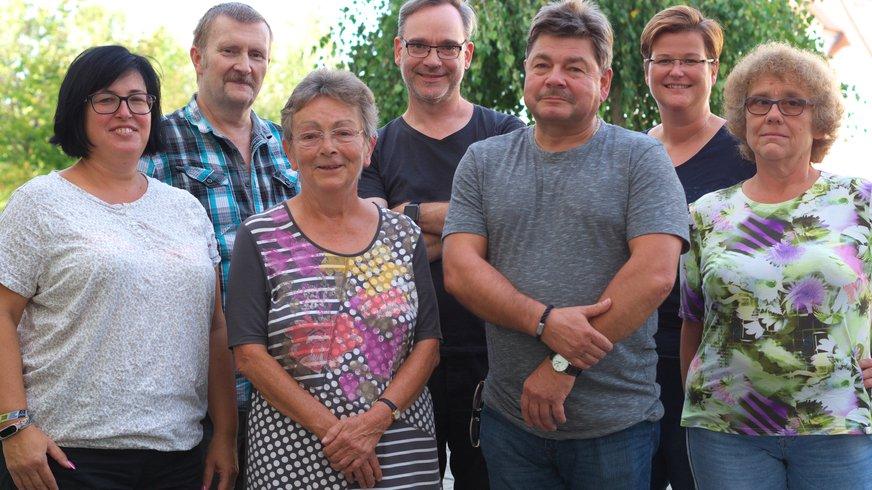 Vorstandsfoto des ver.di Ortsvereins Zwickau