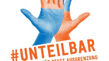 Plakatmotiv zur unteilbar-Demo in Dresden